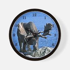 large  3 Wall Clock