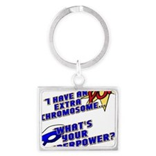 Extra Super Power Landscape Keychain