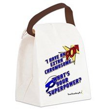 Extra Super Power Canvas Lunch Bag