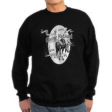 Glacier National Vintage Moose Jumper Sweater