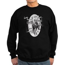 Glacier National Vintage Moose Sweatshirt