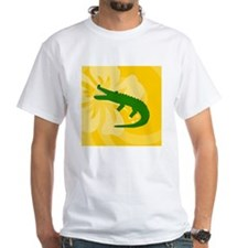 Alligator Square Car Magnet Shirt