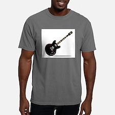 Black Semi Solid Guitar T-Shirt