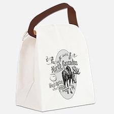 North Cascades Vintage Moose Canvas Lunch Bag