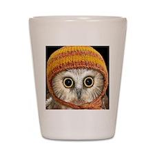 Baby Owl Shot Glass