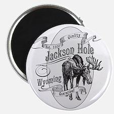 Jackson Hole Vintage Moose Magnet