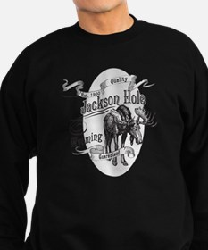 Jackson Hole Vintage Moose Sweatshirt (dark)