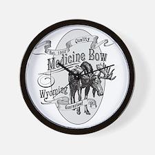 Medicine Bow Vintage Moose Wall Clock