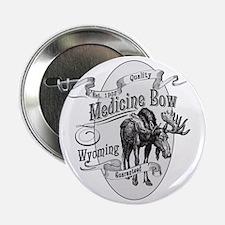 """Medicine Bow Vintage Moose 2.25"""" Button"""