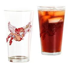 St. Louis Baseball Pin-Up Drinking Glass