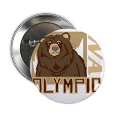 """Olympic Grumpy Grizzly 2.25"""" Button"""