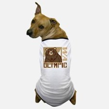 Olympic Grumpy Grizzly Dog T-Shirt