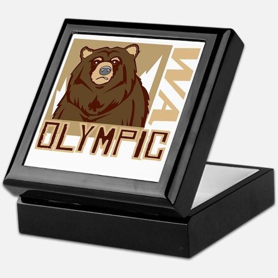 Olympic Grumpy Grizzly Keepsake Box
