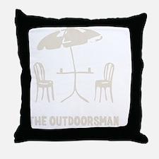 The Outdoorsman Throw Pillow