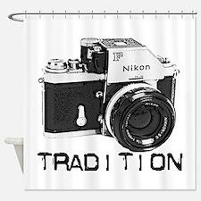 Nikon Shower Curtain