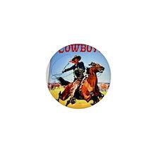 Cowboy Comics Mini Button