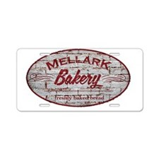 Hunger Games Mellark Bakery Aluminum License Plate