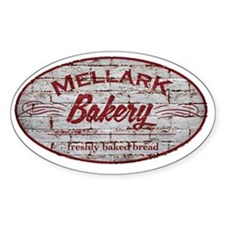 Hunger Games Mellark Bakery Distres Stickers