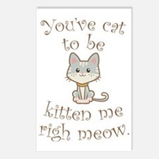 Right Meow Postcards (Package of 8)