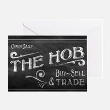 Hunger Games: The Hob, District 12 C Greeting Card