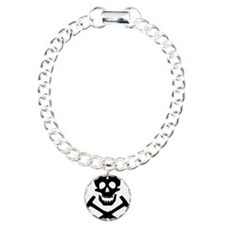 Rockhound Skull Cross Pi Bracelet