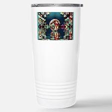 Mandelbrot Fractal Lake Travel Mug