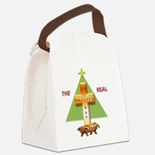 The Real Father's Day Canvas Lunch Bag