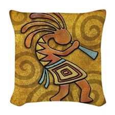 Best Seller Kokopelli Woven Throw Pillow