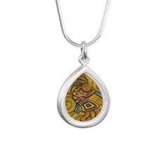 Best Seller Kokopelli Silver Teardrop Necklace