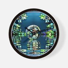 Mandelbrot Fractal Lake Wall Clock