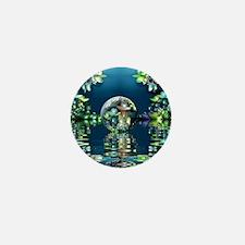 Mandelbrot Fractal Lake Mini Button