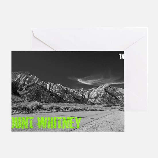 Mount Whitney Greeting Card
