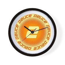 Deuce #2 Wall Clock