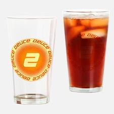 Deuce #2 Drinking Glass