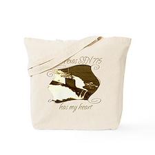 Cool Navy brat Tote Bag