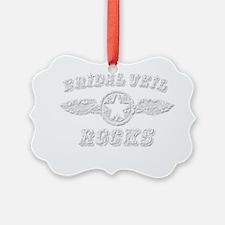 BRIDAL VEIL ROCKS Ornament