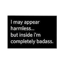 """Appear Harmless"" Rectangle Magnet"