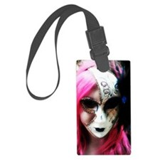 Masquerade Luggage Tag