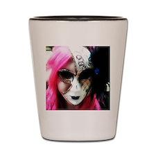 Masquerade Shot Glass