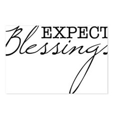 Expect Blessings Postcards (Package of 8)