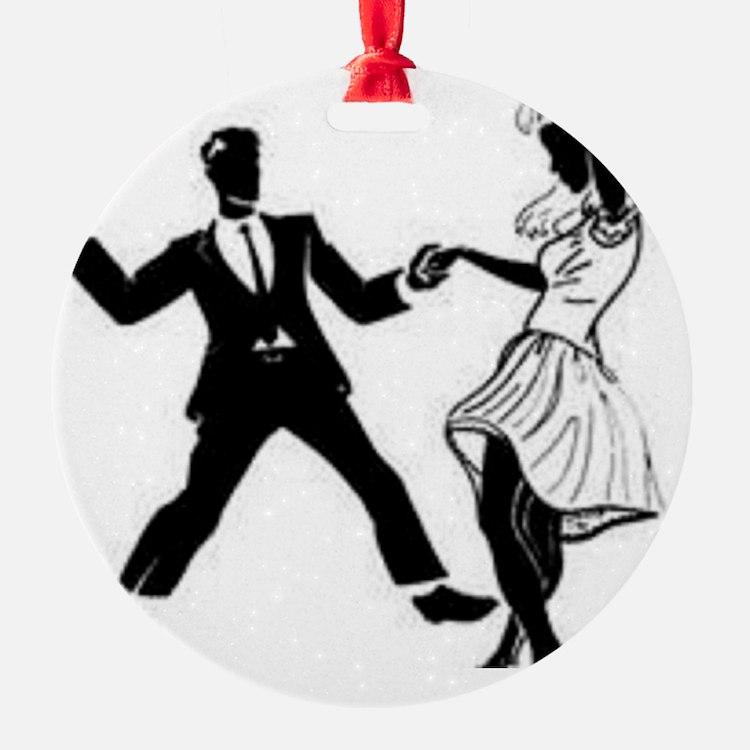 Swing Dancers Ornament