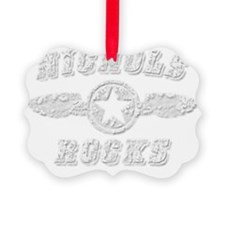 NICHOLS ROCKS Ornament