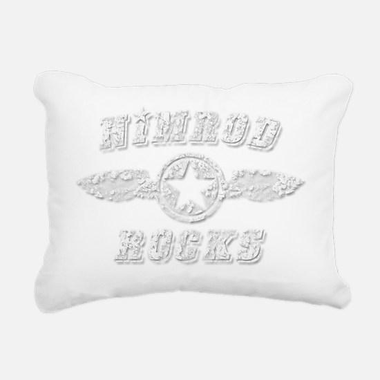 NIMROD ROCKS Rectangular Canvas Pillow