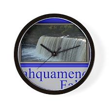 Tahquamenon Falls Michigan UP Wall Clock