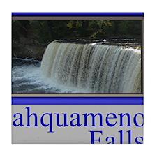 Tahquamenon Falls Michigan UP Tile Coaster