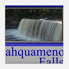 Tahquamenon Falls Michigan UP Tile Coaster