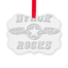 NYACK ROCKS Ornament