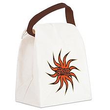Sanskrit Aum Star Canvas Lunch Bag