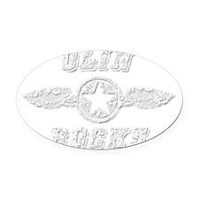OLIN ROCKS Oval Car Magnet