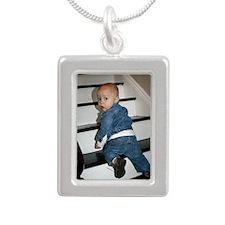 2012_Levi Silver Portrait Necklace